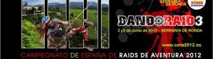 Cartel del Campeonato de España de Raids de Aventura 2012