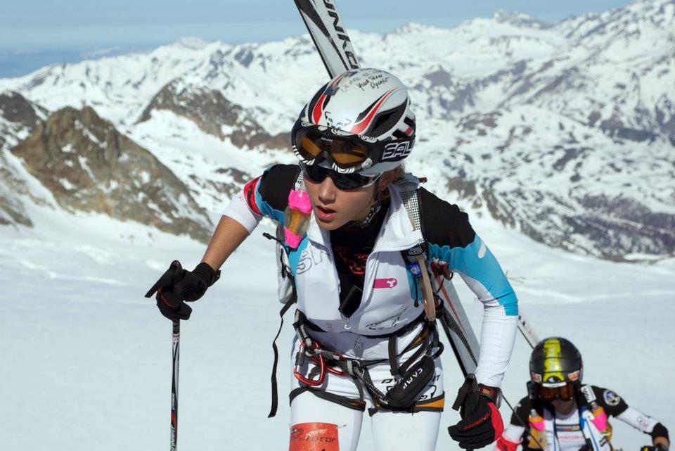 Mireia Miró quedó en segundo lugar en la prueba individual de la Copa del Mundo de esquí de montaña 2012 celebrada en Ahrntal (Tirol Italiano).