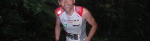 Miguel Herás ascendiendo en la Ultra Cavalls del Vent 2011