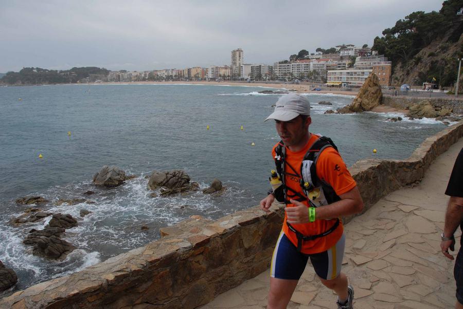 Participante en la Costa Brava Xtrem Running 2012
