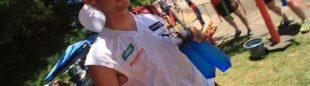 Kilian Jornet durante su participación en el Western States 100 Endurance Race