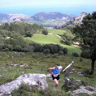 Recorrido del Trail RAE por Otañes (Cantabria)