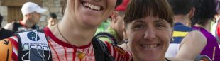 Emma Roca ganadora Q50 2012 (Valle de Lozoya) antes de la carrera