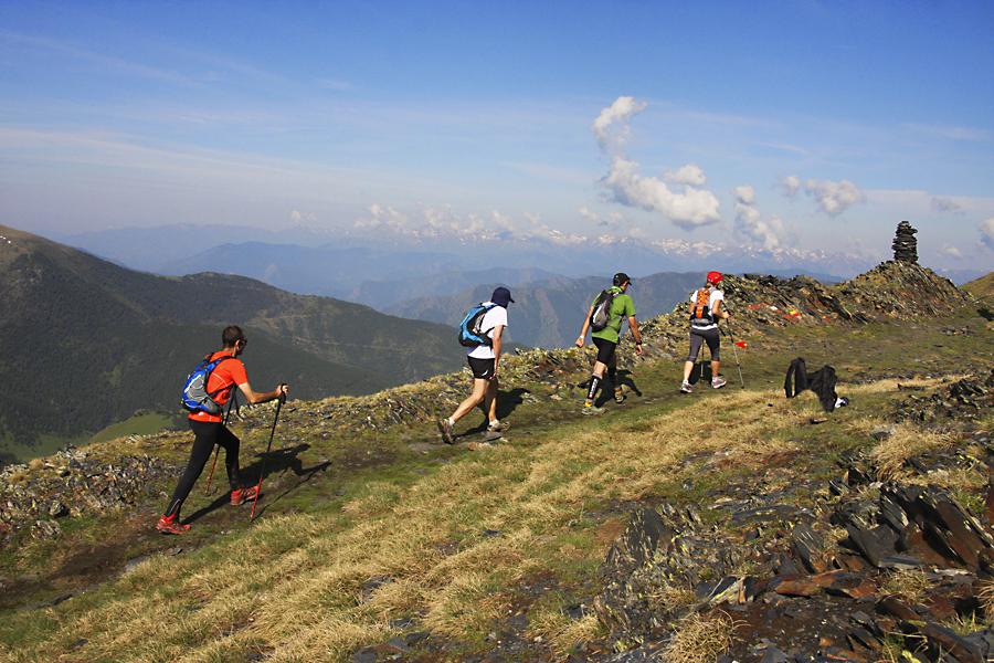 El Andorra Ultra Trail Vallnord discurre por la frontera más alta del Principado.