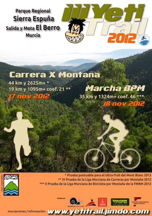 Cartel Yeti Trail 2012