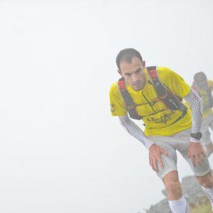 Iker Karrera en la Gore Tex Transalpine Run