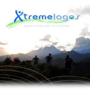 Cartel de la Maratón Xtreme lagos de Covadonga
