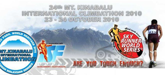 Cartel de la Mount Kinabalu International Climbathon 2011
