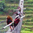 Puente en el recorrido del Trail por etapas The Himalaya Ring que se celebrará en 2014
