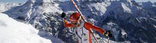 Kilian Jornet en un momento de su participación en el Mundial de Esquí de Montaña celebrado en Pelvoux