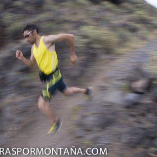Luis Alberto Hernando último entreno antes de Transvulcania 2013.