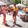 Kilian Jornet y Luis Alberto Hernando en la meta de la Transvulcania 2013