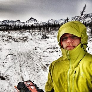 Joe Grant en la Iditarod Invitational 2013