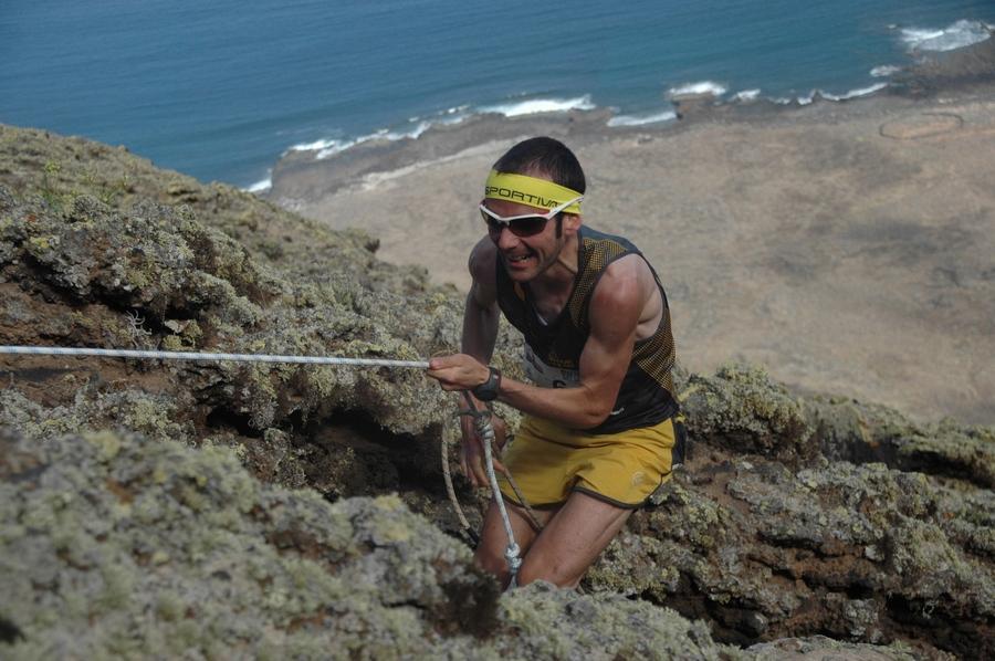 David López Castán en la Haría Extreme 2013