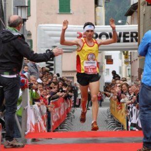 El corredor de montaña colombiano Saúl Padua