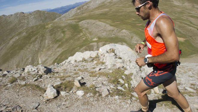 El corredor por montaña