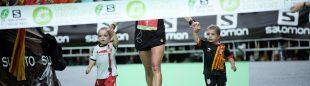 Nuria Picas llega a la meta como ganadora de Cavalls del Vent 2013