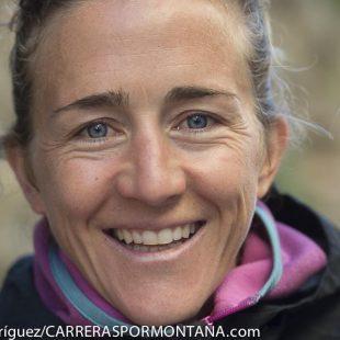Nuria Picas feliz tras ganar Ultra Cavalls del Vent 2013