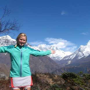 Anna Frost en la Everest Sky Race