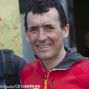 Miguel Heras en la Transgrancanaria 2013.