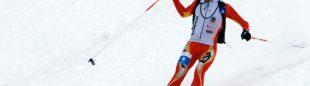 Kilian Jornet en la Copa del Mundo de esquí de montaña 2014
