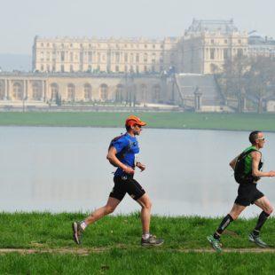 Corredores en el Eco-Trail París