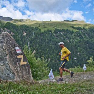 Corredor de Montaña de Carrera Sierre-Zinal