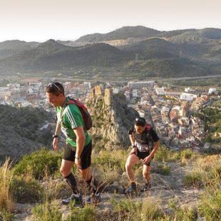 Corredores en el Maratón de Borriol
