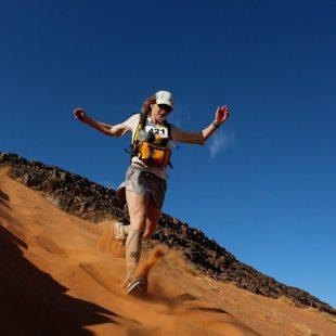 Nikki Kimball en el Marathon des Sables