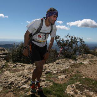 Corredor en el Ultra Trail Muntanyes Costa Daurada
