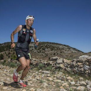 Miguel Heras en el Campeonato de España de Ultra trail. CSP-115