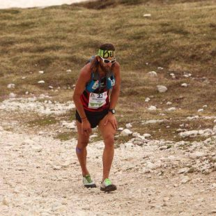 Anton Krupicka en el Lavaredo Ultra Trail 2014