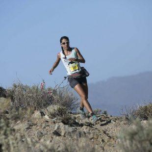 Yurena Castrillo en la Artenara Trail 2014