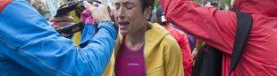 Maite Maiora sufre el efecto de la lluvia y el frío su llegada a meta