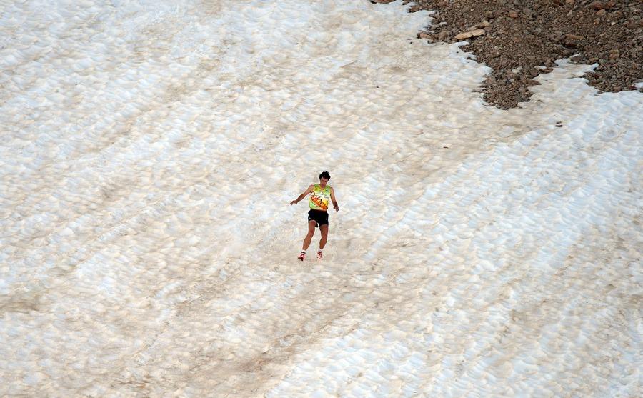 Kilian Jornet en la Dolomites Skyrace 2014