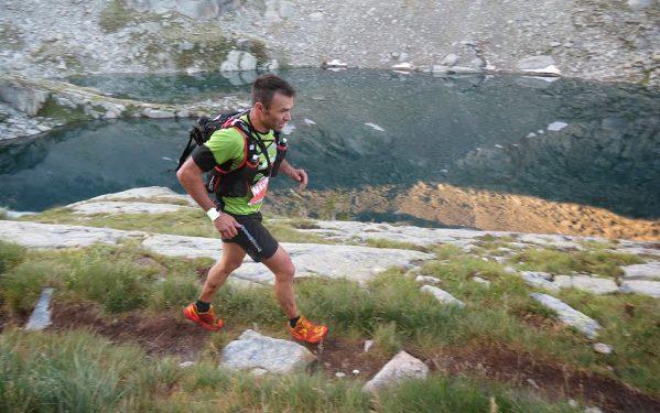 Rafael Martín durante el Gran Trail Aneto-Posets 2014