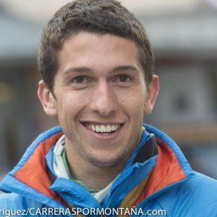 Pablo Villa en el Campeonato del Mundo de Skyrunning 2014