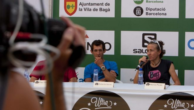Rueda de prensa de la Ultra Pirineu 2014