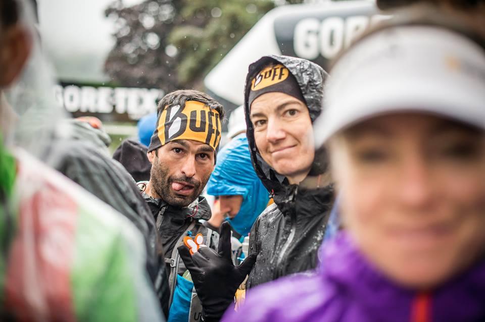 Gerard Morales y Emma Roca en la Gore-Tex Transalpine Run 2014