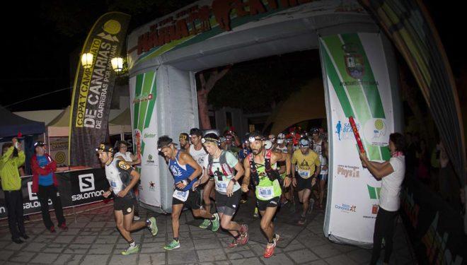 Salida de la modalidad Ultra de la Haria Extrem 2014