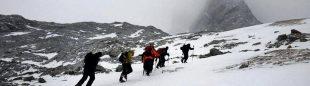 Operativo de rescate del corredor de montaña portugués Joao Marinho