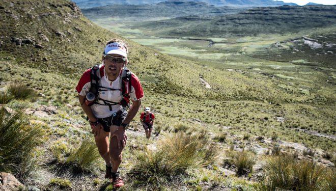 Drakensberg Traverse de Ryan Sandes y Ryno Griesel