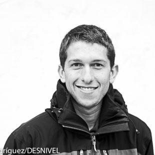 El esquiador y corredor por montaña Manuel Merillas vencedor Travesía Regil 2015 (junto con Antonio Blanco)