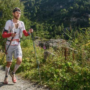 François DHaene en el TNF Ultra Trail Mont Blanc 2014