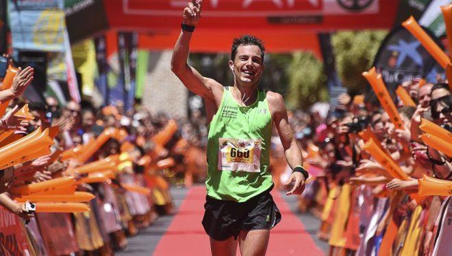 Daniel Garcia segundo en la Transvulcania 2015