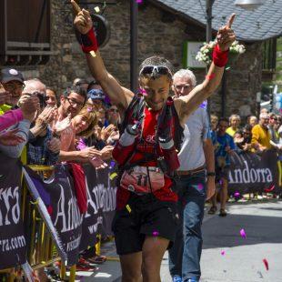 Participante del Andorra Ultra Trail Vallnord