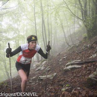 Laura Orgué ganadora Kilómetro Vertical Zegama Aizkorri 2015