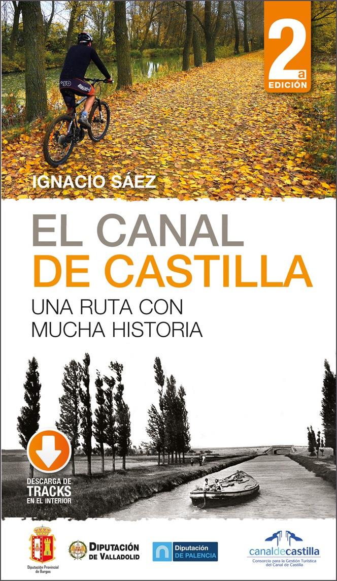 Portada de la guía del Canal de Castilla.