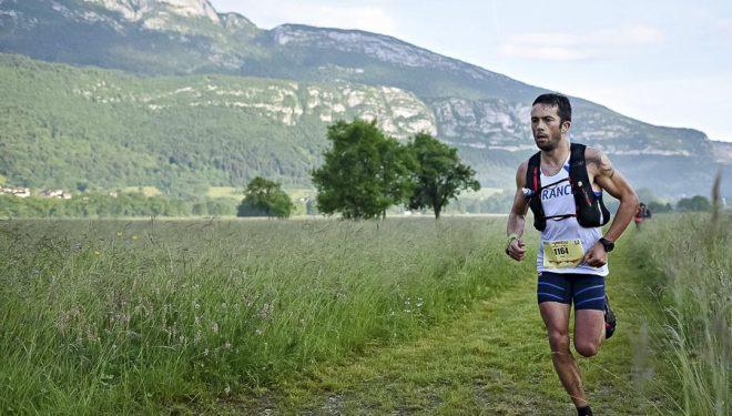 Silvain Court en el Campeonato Mundo Ultra Trail Annecy 2015