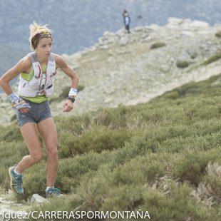 Paula Cabrerizo ganadora Cross 3 Refugios 2015 y del Campeonato Madrid Carreras por Montaña
